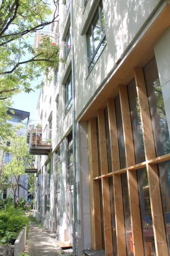A Spreefeld cooperative housing apartment building in Berlin's Kreuzberg district. Photo Brian Vaughn