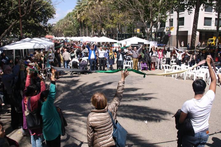 Tot Raval community event in the El Raval neighborhood. Photo Credit: Tot Raval Facebook Page