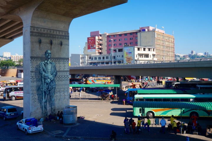Durban's vibrant street art and informal markets reflect its social capital and cultural richness. Photo Credit: Martha Isaacs