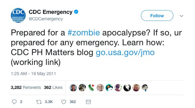 CDC tweet
