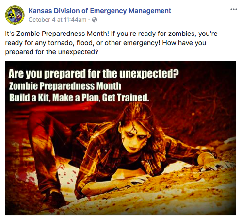 Kansas Division of Emergency Management fb